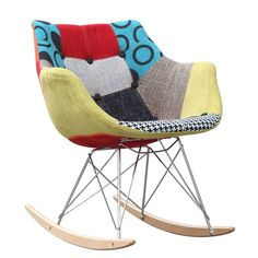 Finemod Imports Modern Ginger Rocker Armchair #modernchair #furniture #chair