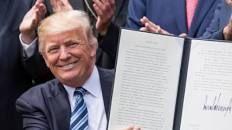 Trump signs executive order to 'vigorously promote religious liberty'