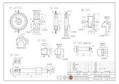 วิจิตร ชัยมงคลมณี : Wijit Chaimongkonmanee: ตัวอย่างแบบงานเขียนแบบ Sheet Metal Drawing, Cad Computer, Isometric Drawing, Autodesk Inventor, 3d Drawings, Mechanical Design, Technical Drawing, Autocad, Blog