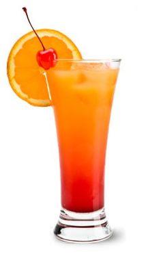 Malibu Bay Breeze: 1 1/2 oz Malibu® coconut rum 2 oz cranberry juice 2 oz pineapple juice