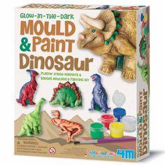 Kit de moulage 6 magnets dinosaures - Annikids