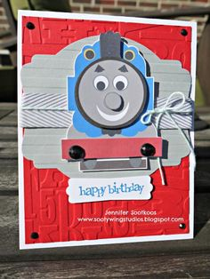 Thomas the Train - MDS by jeny_79 - Cards and Paper Crafts at Splitcoaststampers