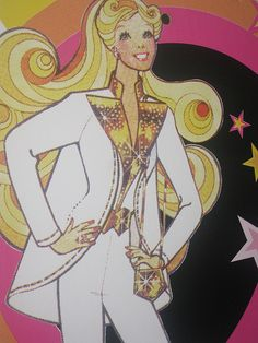 50 Years of Barbie Illustration - Superstar Barbie | Flickr - Photo Sharing!