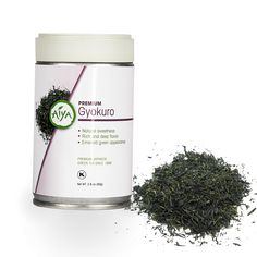 Premium Gyokuro (80g). The pinnacle of Japanese green tea. Shade grown like matcha, resulting in a natural sweet taste. Best steeped in slightly cooler water.