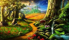 Gardens of Time | Path to the Emerald City