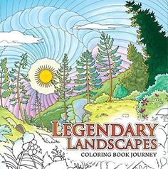 Legendary Landscapes Coloring Book One Of Our Top Ten Choices