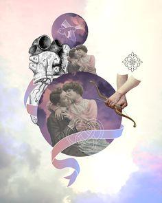 VI. The Lover (Graphic Design) by Carla Izumi Bamford