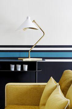 Sarah Lavoine's iconic stripes