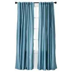 Target  Threshold™ Faux Silk Curtain Panel  $20  http://www.target.com/p/threshold-faux-silk-curtain-panel/-/A-14302663#prodSlot=_4_22