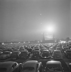 I remember the late early but then our local 7 27 400 Drive-in's closed,Bummer what where they thinking. Drive-in-movie theater, Illinois, 1951 Vintage Photographs, Vintage Photos, Illinois, Drive In Movie Theater, Outdoor Theater, Weird Stories, Urban Life, Before Us, Black And White Pictures