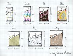 standard mattress sizes