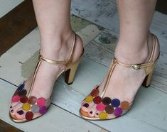 Chie Mihara whimsical sandals
