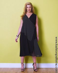 B6359 - Wrap Dress (Fun Jumper)