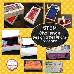 Can you create a container to silence a cell phone? Fantastic STEM Activity!