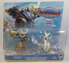 Skylanders SuperChargers Dual Pack #2 Hurricane Jet-Vac and Jet Stream NEW NIP #Activision