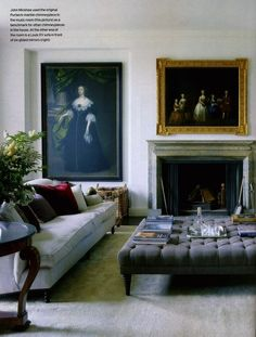 How to Style a Coffee table | Laurel Bern Interiors | Bronxville, NY | interior design by John Minshaw