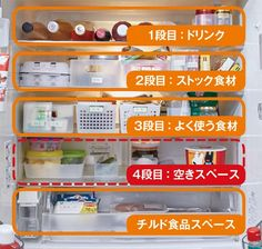 360.life - ダイソー・セリアで解決! 冷蔵庫の劇的ダイエット術6選 Sugar Scrub Diy, Diy Scrub, Refrigerator Organization, Kitchen Organization, How To Make Diy, Tidy Up, Kitchen Pantry, Living Room Designs, House Design
