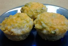 """Broccoli  Cheese Rice Cups! """"Quick and easy meal I made for dinner, yum! :hungry""""  @allthecooks #recipe"""