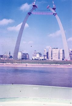 Construction of the Arch, 1965