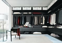 from freshome (walk-in closet idea)