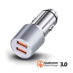 Dual USB QC 3.0 Car Charger 72W