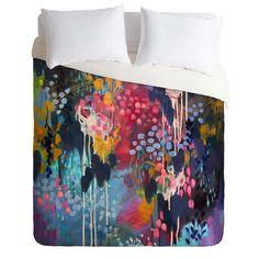 Stephanie Corfee Blue Velvet Duvet Cover   DENY Designs Home Accessories