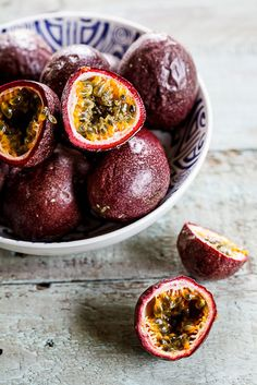 Granadilla (Passion fruit) curd   Simply Delicious