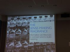The sense-making fragrance.