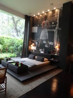 ♂ Modern interior design bedroom bachelor pad