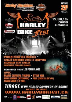 Harley Bike Fest Rimouski le 13 juin! Harley Davidson harleybikefest.ca