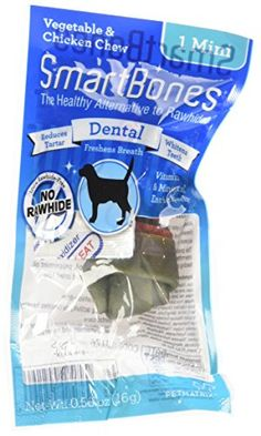 Smartbones 30 Count Dental Mini Treat Pack of 1 >>> Read more reviews of the product by visiting the link on the image.