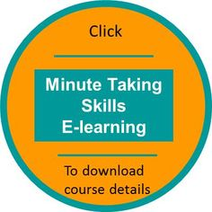 Interactive and engaging elearning - £49 plus VAT.  Bulk licence purchases from £14.70 + VAT. #meetings #note taking #minutes