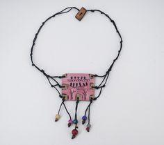 Leather Necklace, Necklaces, Jewelry, Fashion, Leather Collar, Moda, Jewlery, Jewerly, Fashion Styles