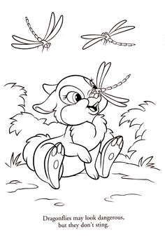 Disney Coloring Page Disney coloring Pinterest Bunny