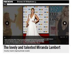#FOXNEWS - #MirandaLambert in #PeterLangner during Gala Dinner in #Washington