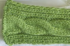 Ravelry: Basic Cabled Scarf pattern by Carly Waterman