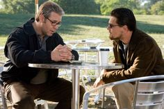 Still of Russell Crowe and Leonardo DiCaprio in Body of Lies