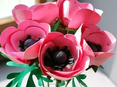 How to Make a Beautiful Paper Anemone Flower
