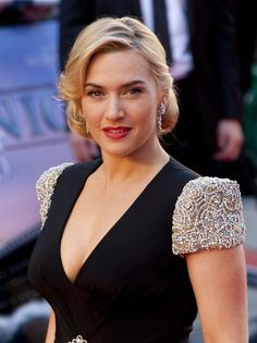 Kate Winslet at the World Premiere of Titanic 3D at the Royal Albert Hall in London. 27 March 2012