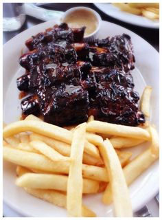 Beef ribs at Hurricanes