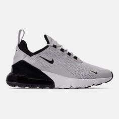 Source by casual Shoes All Nike Shoes, Gray Nike Shoes, Grey Nikes, Buy Shoes, Me Too Shoes, Black Shoes, Shoes Jordans, Nike Air Max For Women, Air Max 270