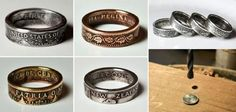 http://www.goodshomedesign.com/handcrafted-coin-rings/