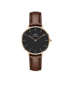 The Classic Petite St Mawes (Rose Gold) in Black