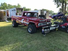Truck And Tractor Pull, Tractor Pulling, Boy Toys, Toys For Boys, Truck Pulls, Logging Equipment, 4x4 Off Road, Square Body, Race Day