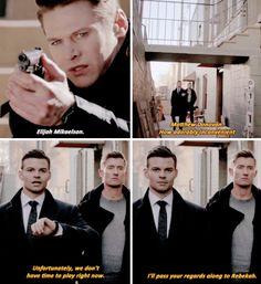 "#TheOriginals 3x17 ""Behind the Black Horizon"" - Matt, Elijah and Finn"