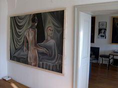 Atelieransichten Painting, Home Decor, Atelier, Homemade Home Decor, Painting Art, Paintings, Paint, Draw, Decoration Home