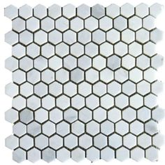 Honed Marble tile MS International Grecian White 12 in. x 12 in. x 10 mm Honed Marble Mesh-Mounted Mosaic Tile sq. / at The Home Depot Honed Marble, Marble Mosaic, Marble Floor, Mosaic Tiles, Hex Tile, Backsplash Tile, Tile Flooring, Stone Mosaic, Subway Tiles