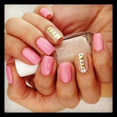studded nails? YES please!