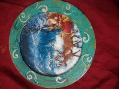 Plates, Tableware, Painting, Art, Licence Plates, Plate, Dinnerware, Dishes, Painting Art