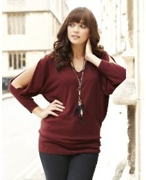 Split Sleeve Sweater at Simply Be
